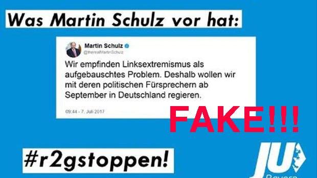 Junge Union droht Ordnungsgeld von 250.000 Euro – wegen Fake-News gegen Martin Schulz