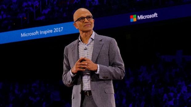 Deutlich mehr Umsatz bei Microsoft dank Cloud-Boom