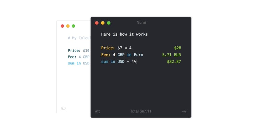 Für Entwickler: Hilfreicher Mac-Taschenrechner Numi spart Zeit