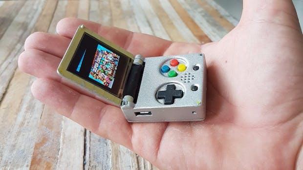 Open-Source-Gameboy: Die wohl kleinste Spielkonsole der Welt