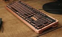 Leder und Metall: So luxuriös kann ein mechanisches Keyboard sein