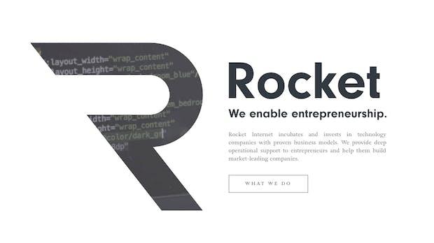 Neues Logo: Rocket Internet killt Rakete und verabschiedet sich vom Größenwahn