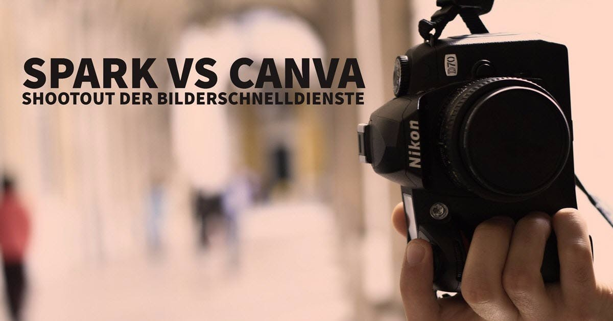 Adobe Spark vs. Canva: Shootout der Bilder-Schnelldienste