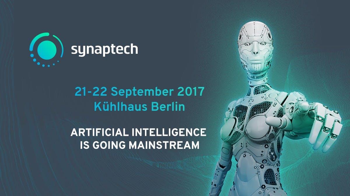 Synaptech 2017: Wenn künstliche Intelligenz zum Mainstream wird