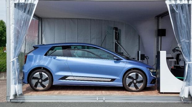 Sieht aus wie ein neuer E-Golf: Volkswagen zeigt Ausblick auf die nächste Stromer-Generation