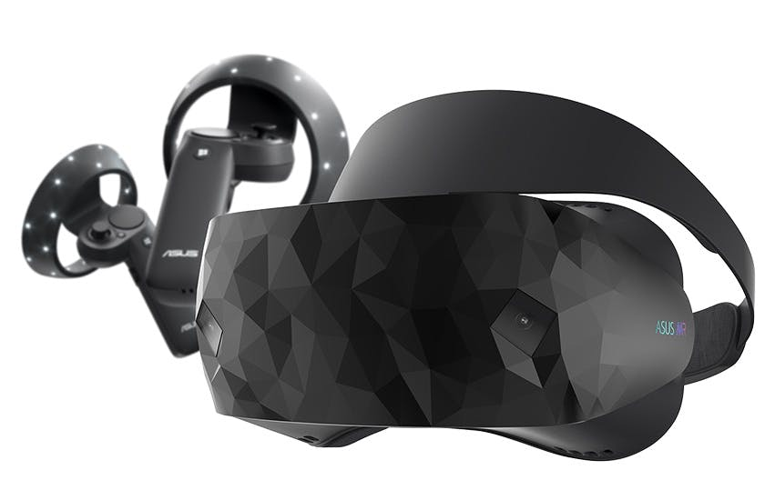 ASUS Windows-Mixed-Reality-Headset. (Bild: Asus)