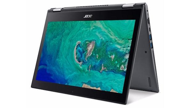Acer Spin 5 (13; 2017). (Bild: Acer)