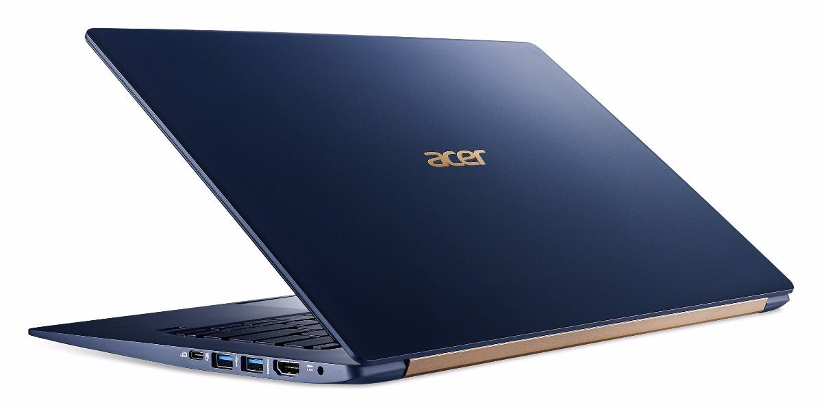 Acer Swift 5. (2017). Bild: Acer)