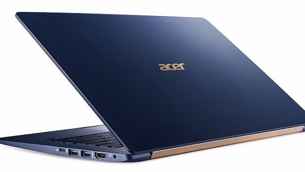 Acer Swift 5. (2017). Bild: Acer)