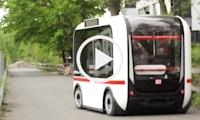Olli: Der erste autonome Bus, der Fährgäste durch Berlin befördern soll