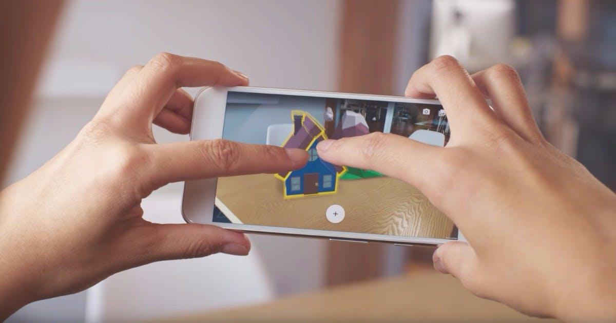 Arcore 1.0 ist da: Google bringt AR-Plattform auf 100 Millionen Smartphones
