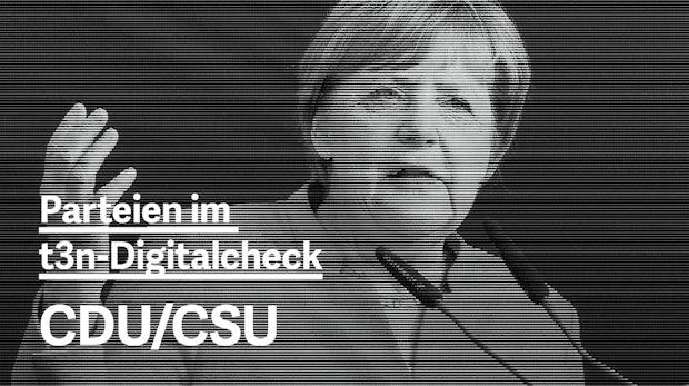 Wahlprogramm im Digitalcheck: Was wollen CDU/CSU?