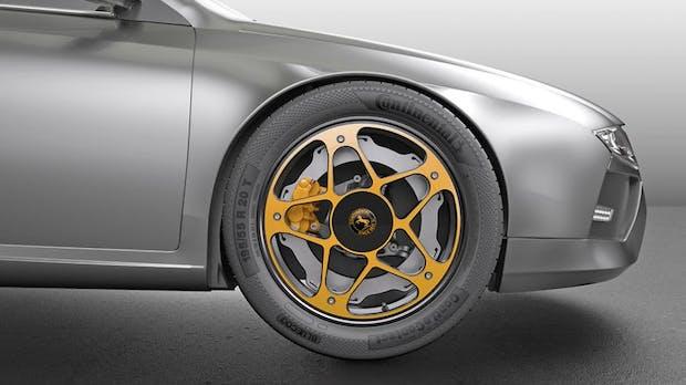 New-Wheel-Concept: Continental erfindet das Rad für Elektroautos neu