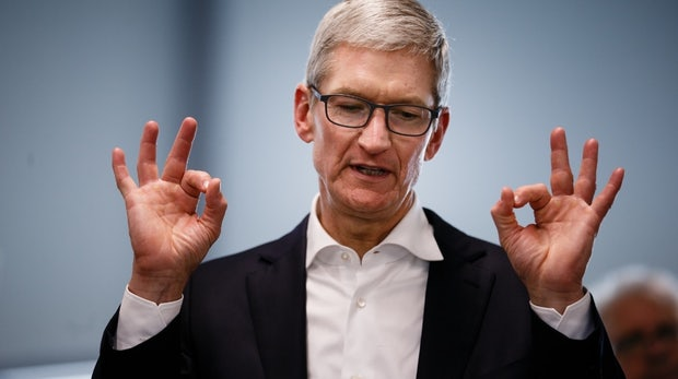 Tim Cook: So viel hat der Apple-Chef 2017 verdient