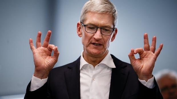 Tim Cook: So viel hat der Apple-Chef 2017 verdient