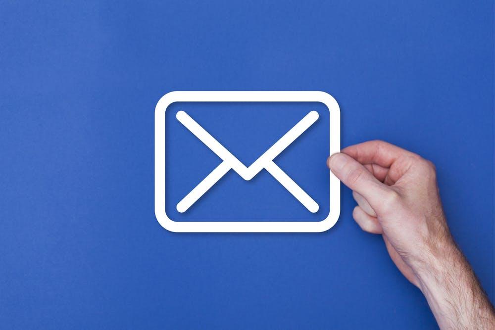 E mail signatur hintergrund
