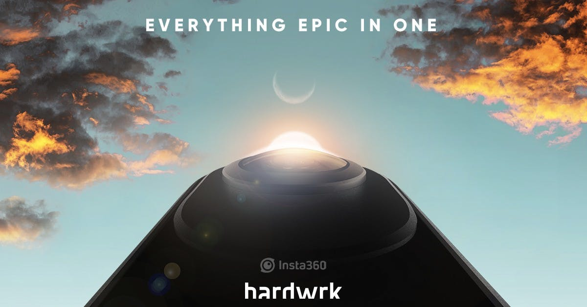 Nur noch heute: Zehn Prozent Rabatt auf die 360-Grad-Kamera von hardwrk