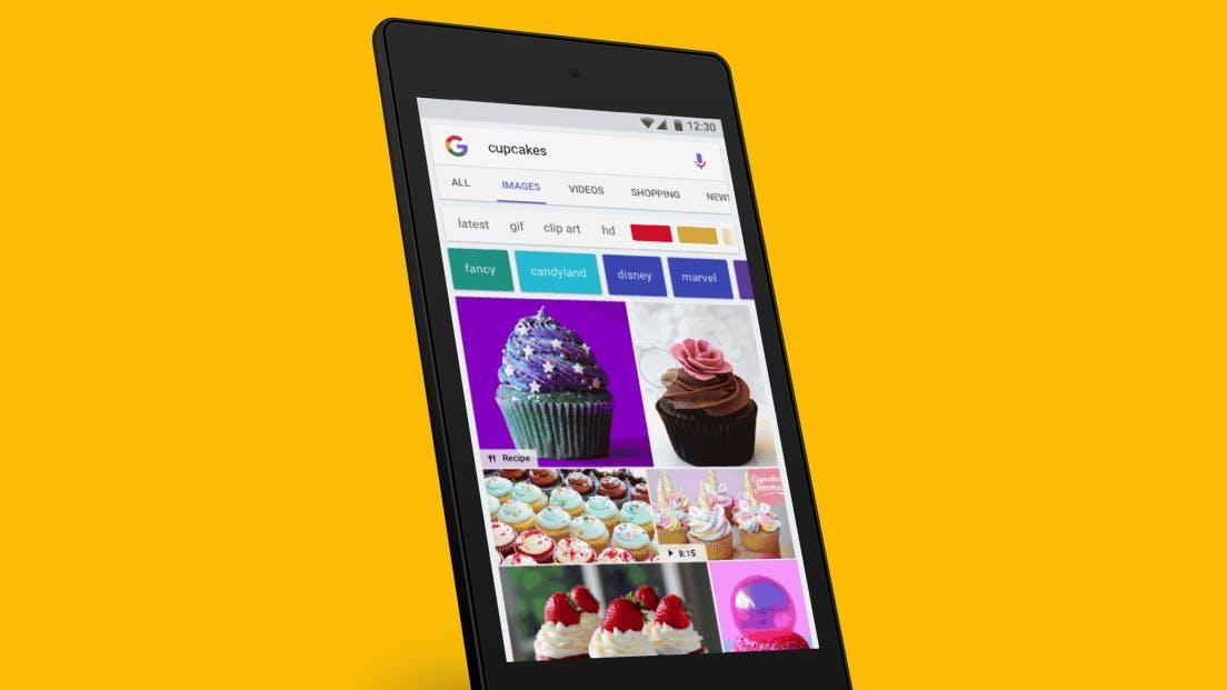 Neues Update: Googles Bildersuche jetzt in Pinterest-Optik