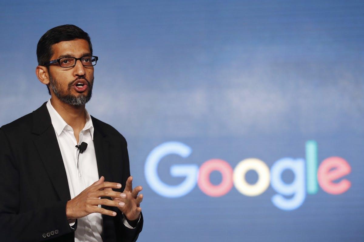 Google-Chef Pichai verspricht weniger Daten in der Cloud zu speichern