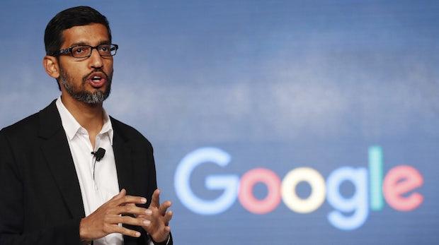 Laut Google-Chef Sundar Pichai aktuell keine Pläne für eine Suchmaschine in China