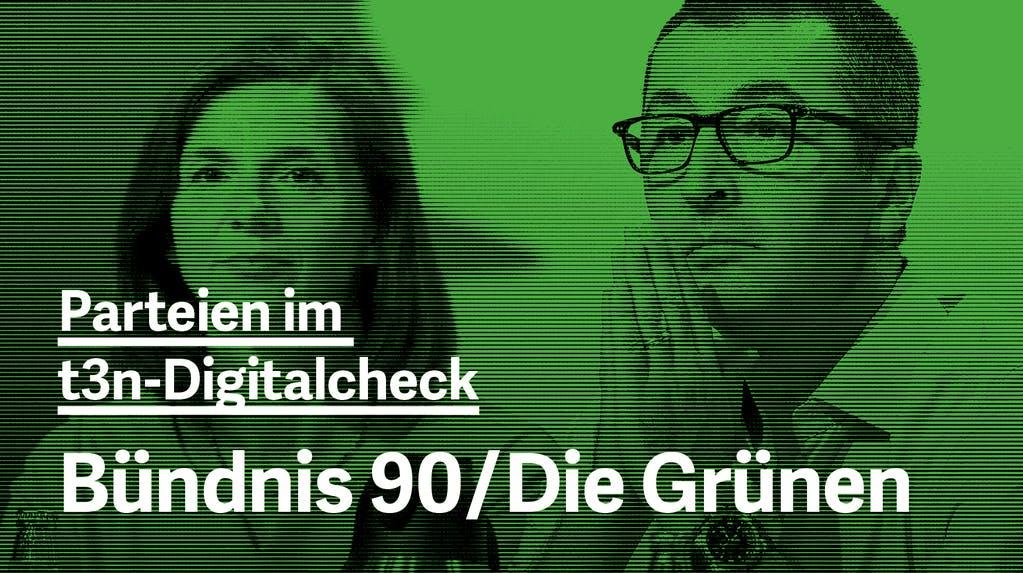 Wahlprogramm im Digitalcheck: Was will das Bündnis 90/Die Grünen?
