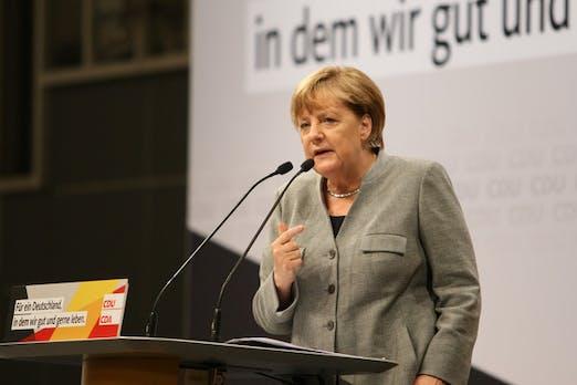 Merkel: Deutschland droht bei neuen Technologien zurückzufallen