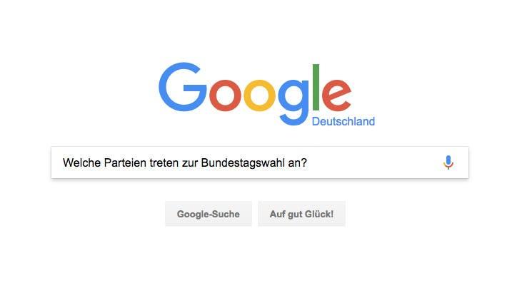 Google Trends: Das sind die Antworten auf die häufigsten Fragen zur Bundestagswahl 2017