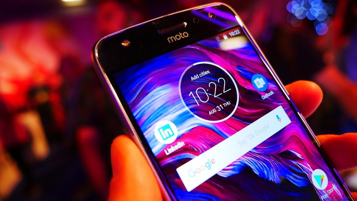 Moto X4 ist offiziell: Edles Dual-Kamera-Smartphone mit Alexa an Bord