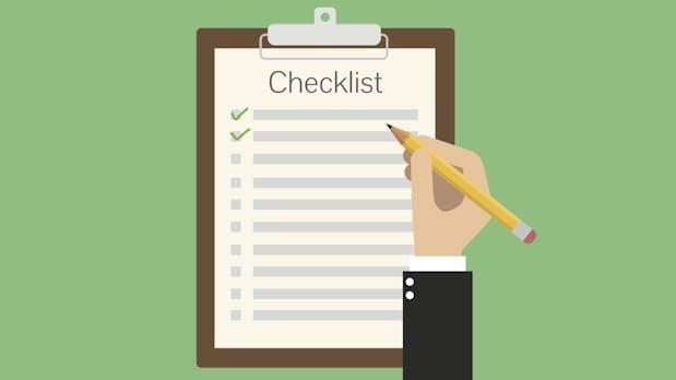 Marketing-Checkliste: So endet dein nächstes Webprojekt nicht im Desaster