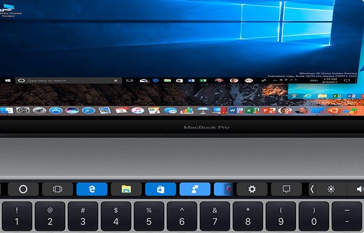 Parallels Desktop 13 bringt die Touch-Bar in virtuelle Windows-Maschinen