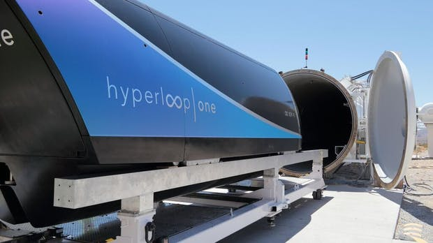Hyperloop One: Testkapsel rast zu neuem Geschwindigkeitsrekord