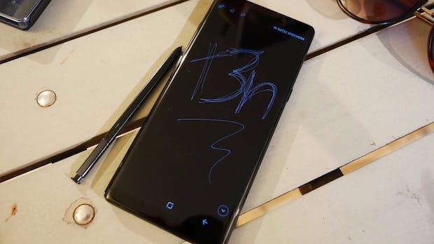 Samsung Galaxy Note 8 ist da: Das hat das neue High-End-Phablet unter der Haube