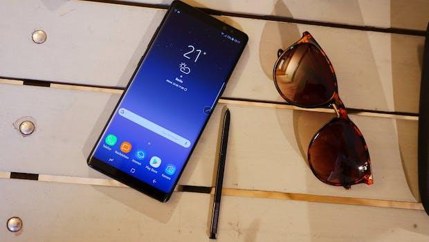 Samsung Galaxy Note 8. (Foto: t3n)