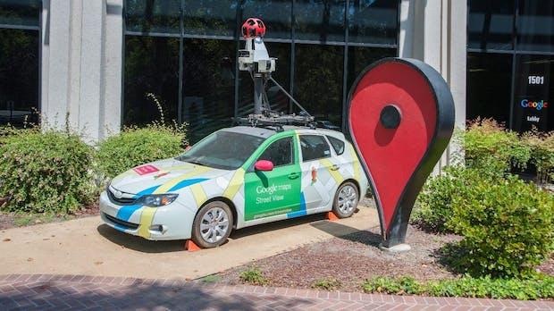 Google schickt wieder Street-View-Autos durch Deutschland