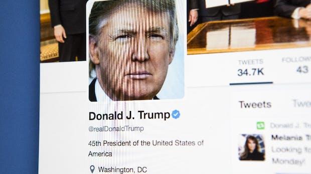 Twitter löscht Video von Trump – Copyrightverletzung