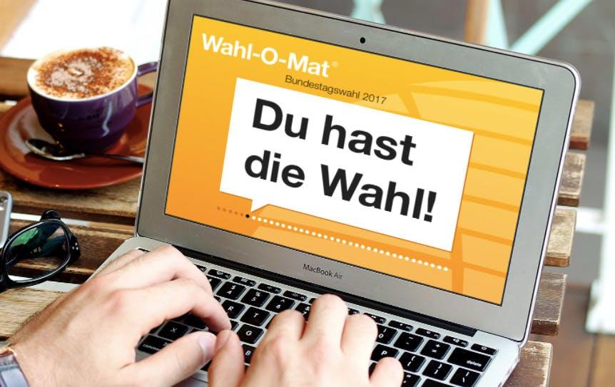 Wahl-O-Mat zur Bundestagswahl 2017 ist online: Welche Partei passt zu dir?