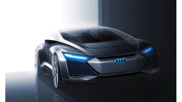 Concept-Car Audi Aicon. (Foto: Audi)