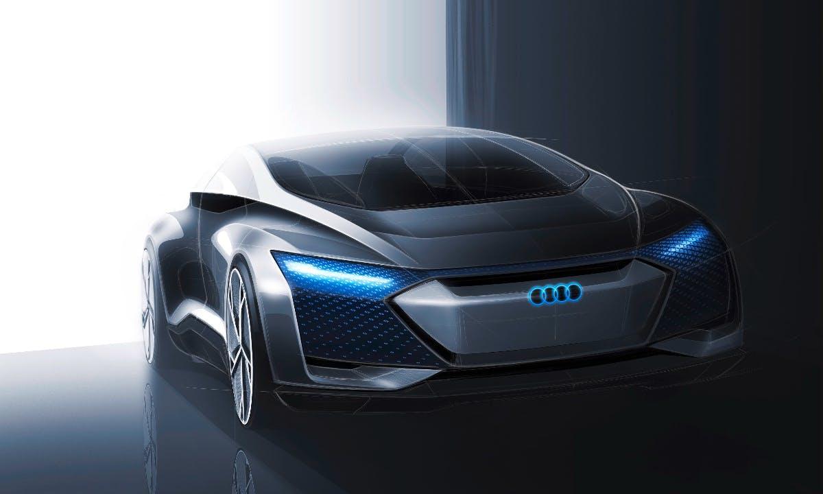Autonome Luxuslimousine der Zukunft: Das ist das Concept-Car Audi Aicon
