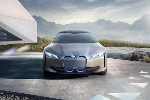 Elektro-Gran-Coupé mit 600 km Reichweite: Das ist der BMW i Vision Dynamics