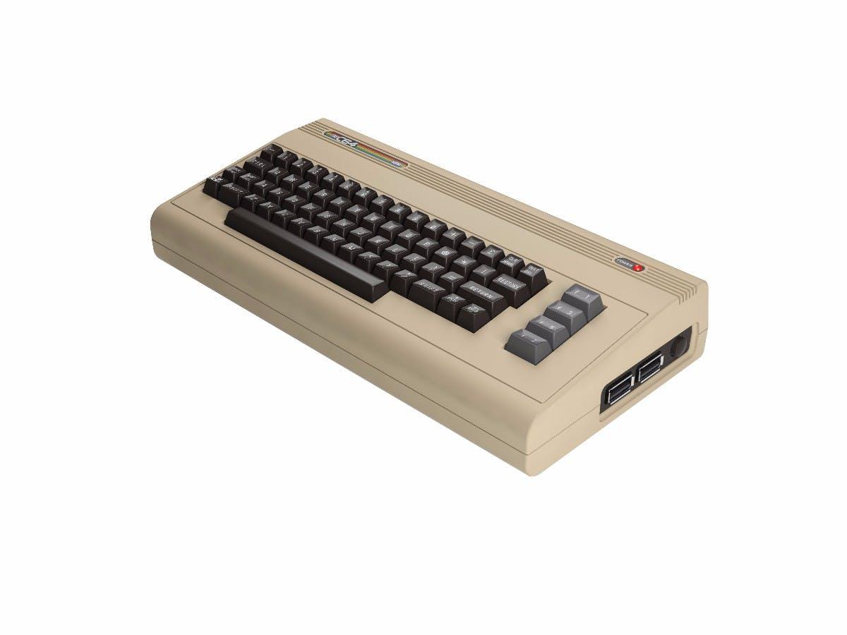 The C64 Mini. (Bild: Retro Games)