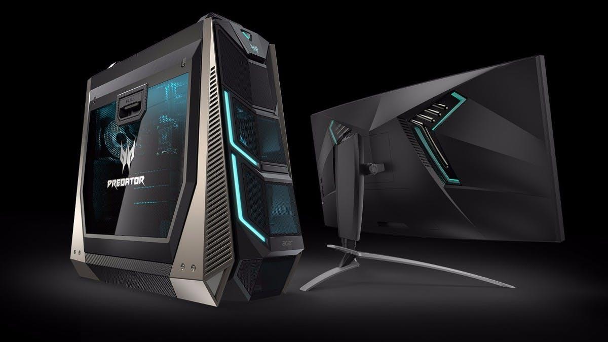Overkill für 10.000 Euro: Acers High-End-Gaming-PC kommt mit bis zu 4 Grafikkarten und 18 Prozessorkernen
