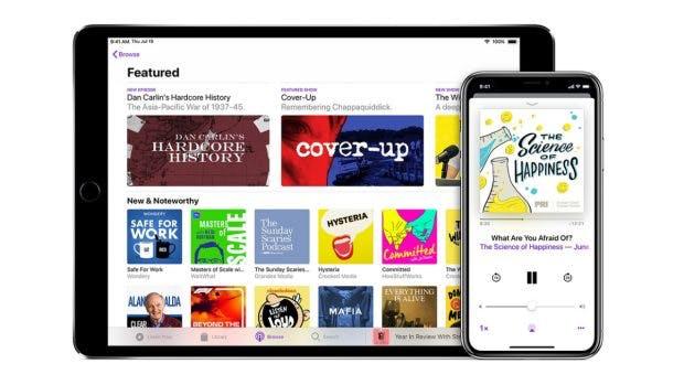 Apples eigene Podcast-Lösung dürfte für manche vollkommen ausreichen. (Bild: Apple)