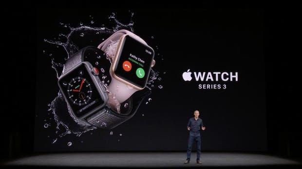 Dank LTE: Apple mit Watch Series 3 zurück auf dem Wearables-Thron