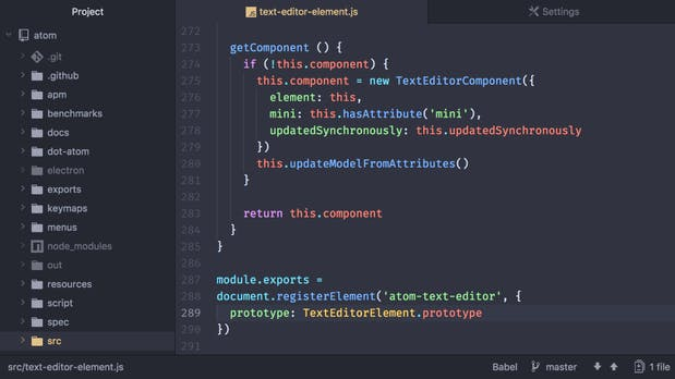 Atom: Github-Editor erreicht Version 1.20