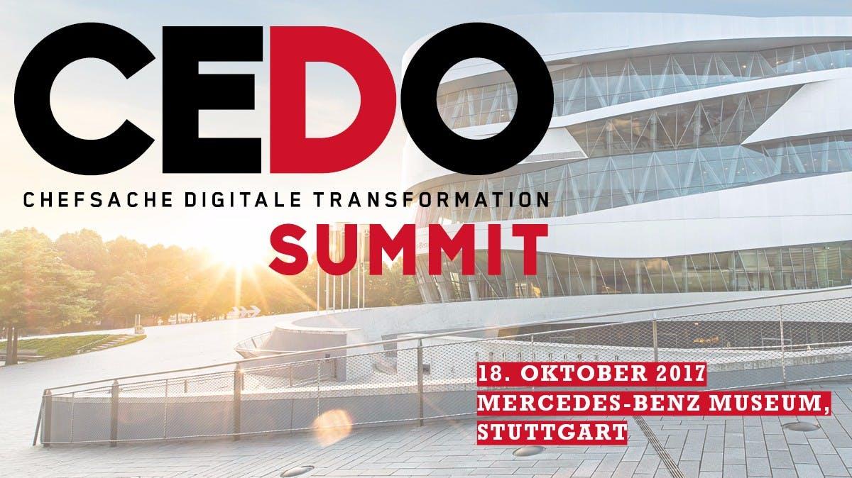 CEDO-SUMMIT: Das Premium-Event für Führungskräfte und Entscheider