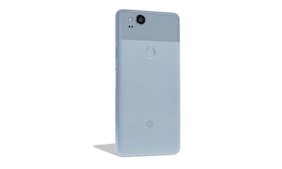 "Google Pixel 2 in ""Kinda Blue"". (Bild: Droid Life)"