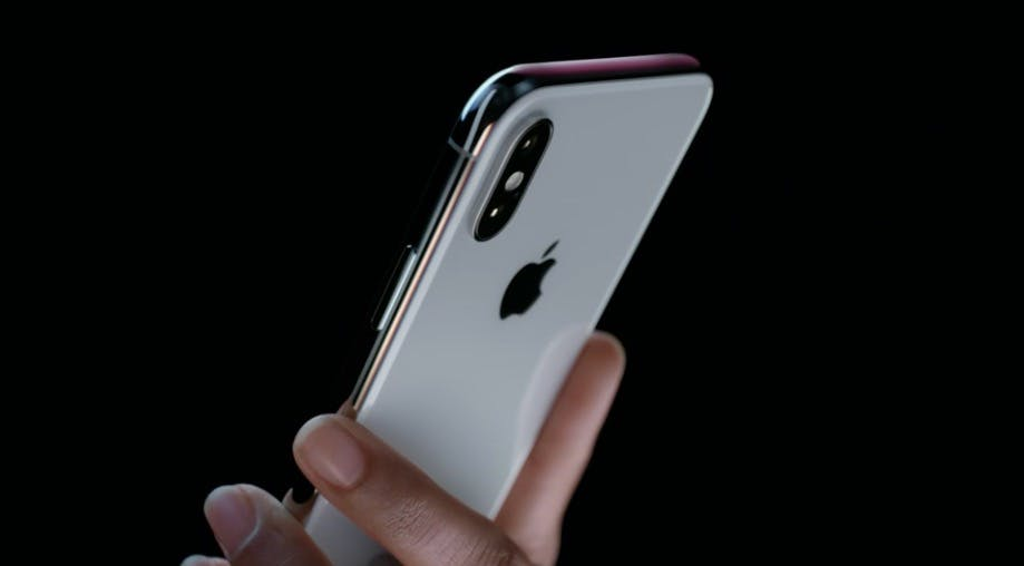 iPhone X. (Bild: Apple)