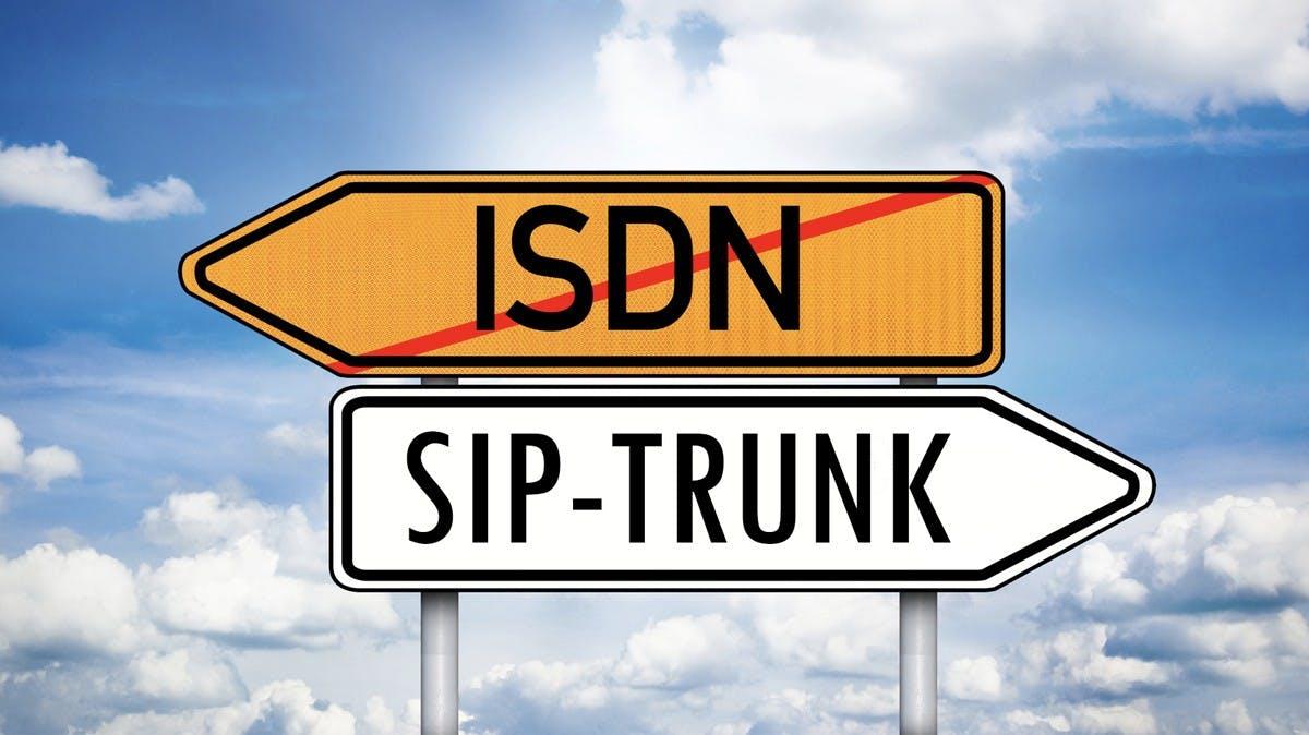 SIP-Trunk-Telefonie löst ISDN ab – so gelingt der Wechsel