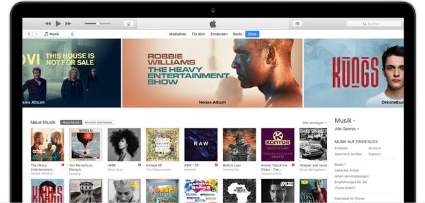 iTunes 12.6.3: Update bringt iOS-App-Store auf Mac und Windows zurück