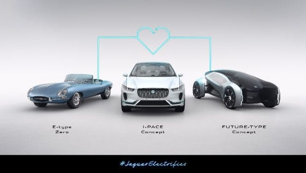 Jaguar setzt künftig auch auf Elektromobilität. (Bild: Jaguar)